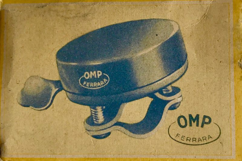 1954 OMP Ferrara bicycle bell