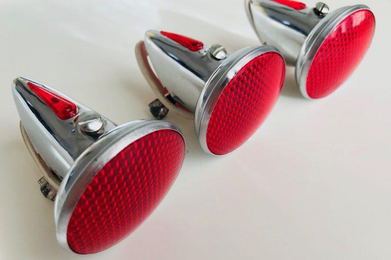 1950s Biemme Rubis 55 rear reflector